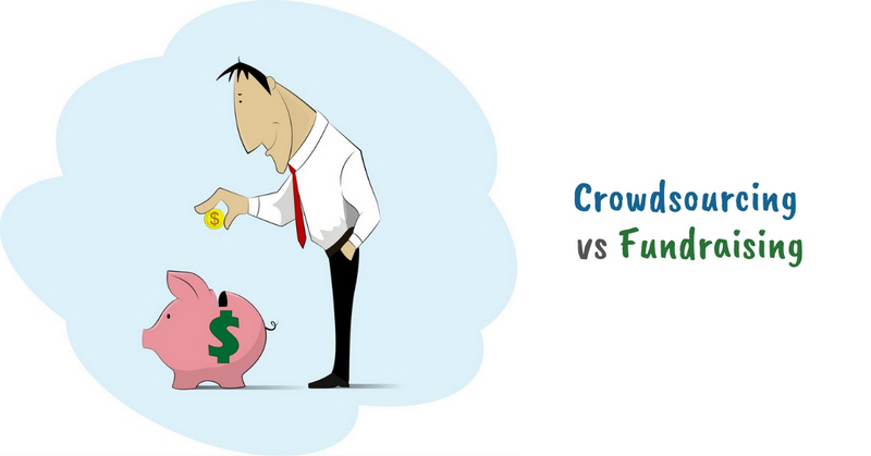 Crowdsourcing vs Fundraising