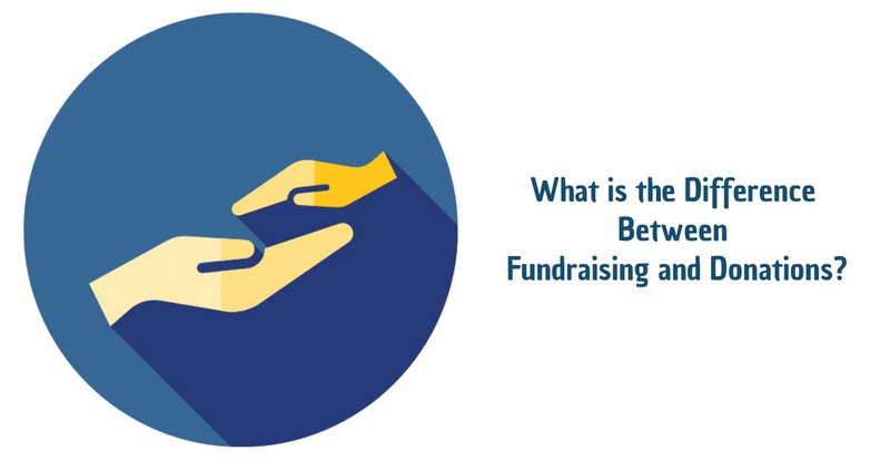 What is the Difference Between Fundraising and Donations_